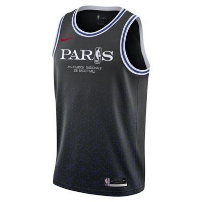 Camiseta Nike NBA para hombre Paris Swingman
