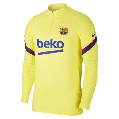 Nike VaporKnit FC Barcelona Strike fotballtreningsoverdel til herre