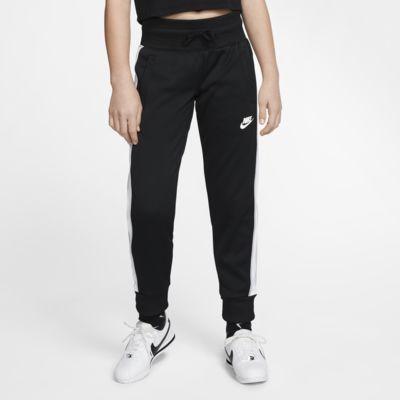 Pantalones para niña talla grande Nike Sportswear Heritage