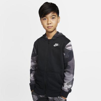 Nike Sportswear Club Big Hoodie mit durchgehendem Reißverschluss für ältere Kinder (Jungen)