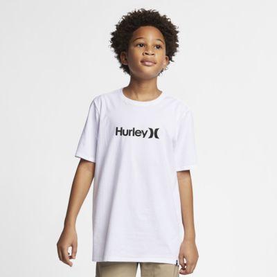 T-shirt Hurley Premium One And Only Solid - Bambino/Ragazzo