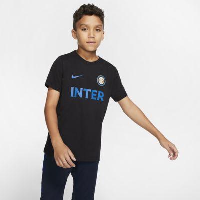 Inter Milan T-skjorte til store barn