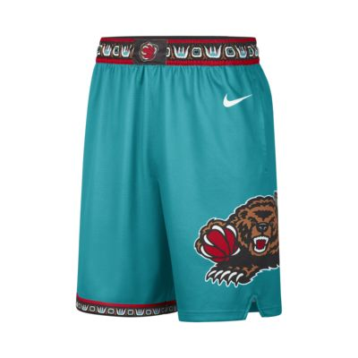 孟菲斯灰熊队 Classic Edition Nike NBA Swingman 男子短裤