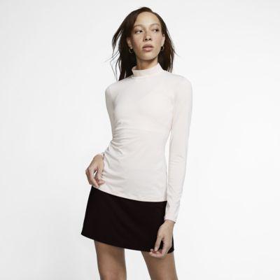 Camiseta de golf de manga larga para mujer Nike Dri-FIT UV