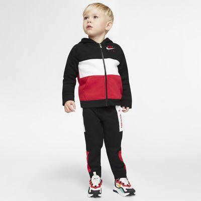 Zestaw bluza z kapturem i joggery dla niemowląt (12-24 M) Nike Air