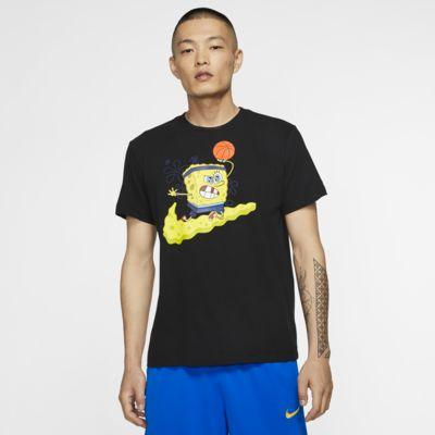 """Мужская баскетбольная футболка Kyrie Nike Dri-FIT """"SpongeBob"""""""