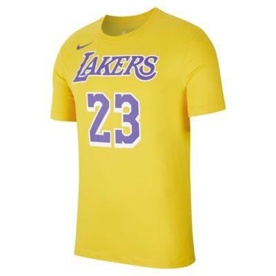 LeBron James Los Angeles Lakers Nike Dri-FIT NBA Erkek Tişörtü