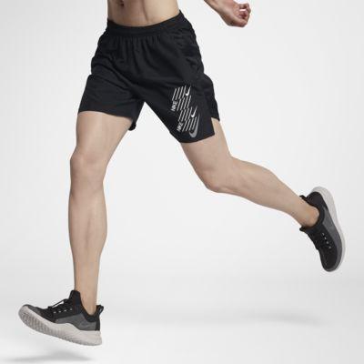 "Nike Challenger 7"" 男子印花跑步短裤"