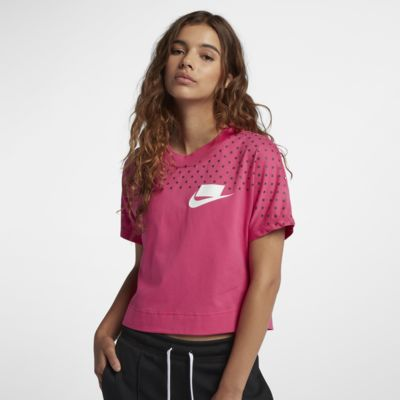Женская укороченная футболка Nike Sportswear