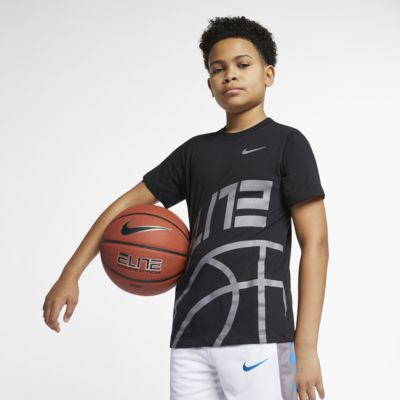 Nike Dri-FIT Elite Big Kids' (Boys') Basketball T-Shirt