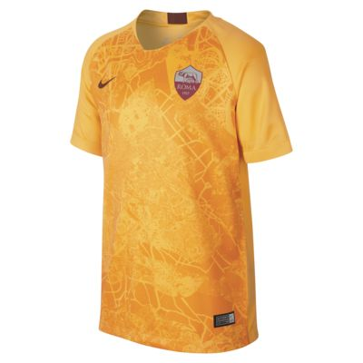 2018/19 A.S. Roma Stadium Third Older Kids' Football Shirt