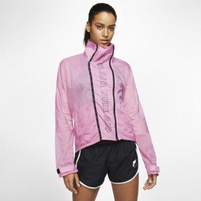 Nike Air Damen-Laufjacke mit durchgehendem Reißverschluss