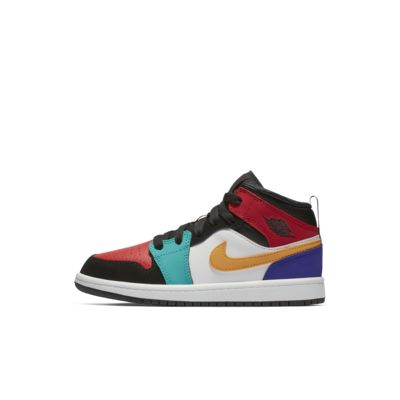 aa0d39398159 Air Jordan 1 Mid Little Kids  Shoe. Nike.com