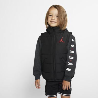 Jordan Jumpman Puffer-Jacke mit durchgehendem Reißverschluss für Kleinkinder