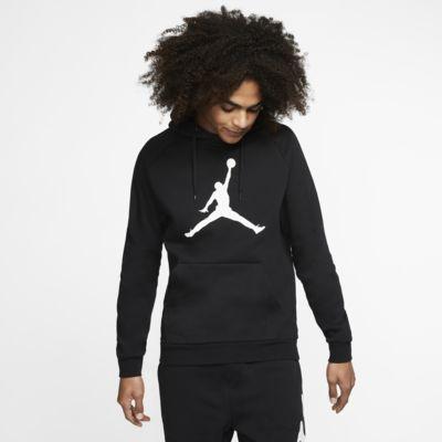 Felpa pullover in fleece con cappuccio Jordan Jumpman Logo - Uomo