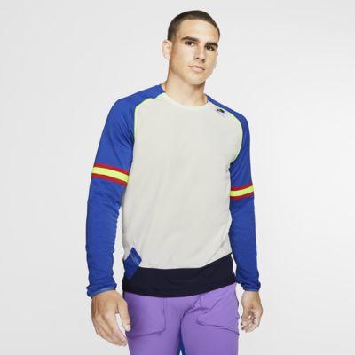 Långärmad löpartröja Nike Wild Run för män