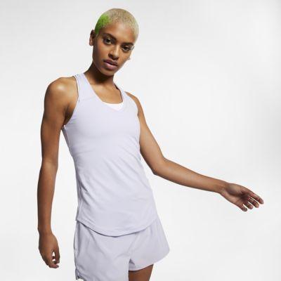 Débardeur de tennis NikeCourt Team Pure pour Femme