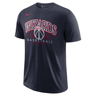 T-shirt NBA Washington Wizards Nike Dri-FIT para homem