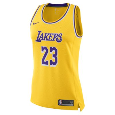 Camiseta conectada Nike NBA para mujer Icon Edition Swingman (Los Angeles  Lakers)