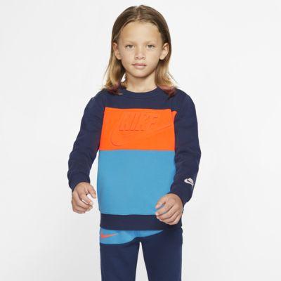 Nike Sportswear Little Kids' Fleece Crew