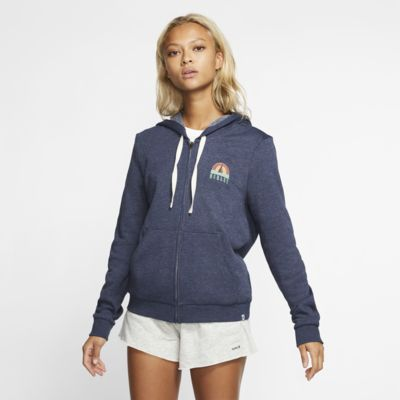 Hurley Sail Away Perfect-hættetrøje med lynlås til kvinder
