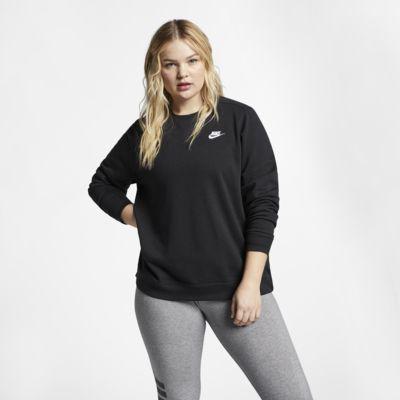 Maglia a girocollo in fleece Nike Sportswear Club - Donna (Plus Size)