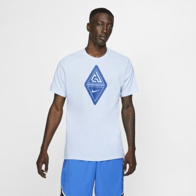 Giannis Nike Dri-FIT Logolu Erkek Basketbol Tişörtü