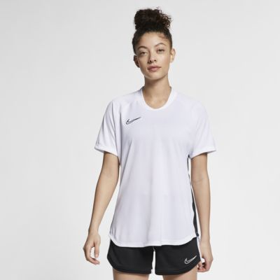 Kortärmad fotbollströja Nike Dri-FIT Academy för kvinnor