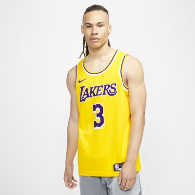 Anthony Davis Lakers Icon Edition Men's Nike NBA Swingman Jersey