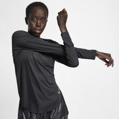 Nike 女款長袖跑步上衣