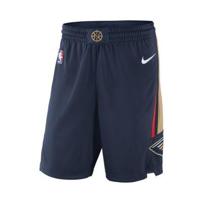 Shorts de NBA para hombre New Orleans Pelicans Nike Icon Edition Swingman