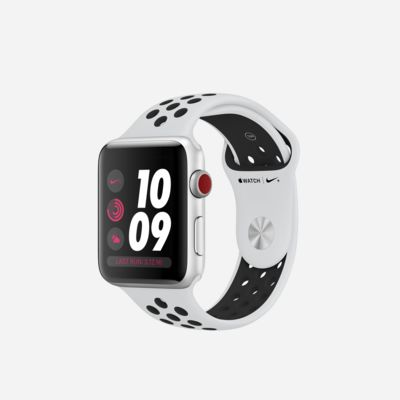 Apple Watch Nike+ Series 3 (GPS + Cellular) 42mm Open Box Running Watch