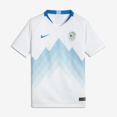 2018 Slovenia Stadium Home Older Kids' Football Shirt