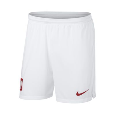 2018 Poland Stadium Home Men's Football Shorts