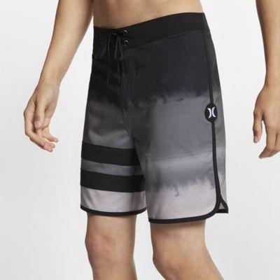 "Hurley Phantom Block Party Fever  Men's 18"" Board Shorts"