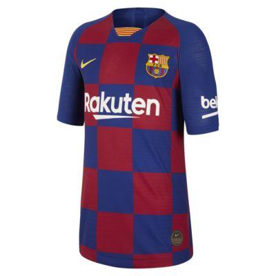Camiseta de fútbol de local para niños talla grande Vapor Match del FC Barcelona 2019/20