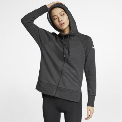 79a53c2438f4b Nike Dri-FIT Women s Full-Zip Training Hoodie. Nike.com