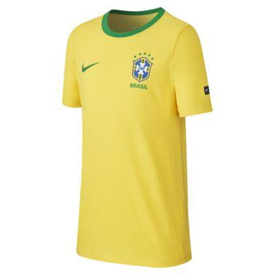T-shirt Brasil CBF Crest - Ragazzo