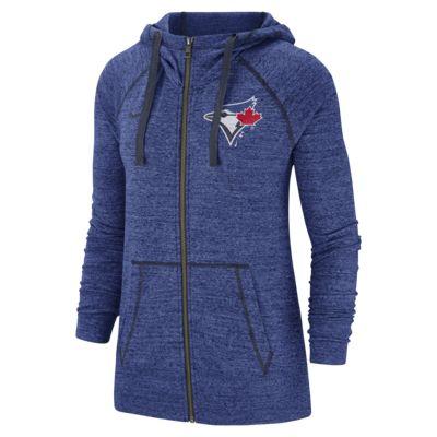 Nike Gym Vintage (MLB Blue Jays) Women's Full-Zip Hoodie