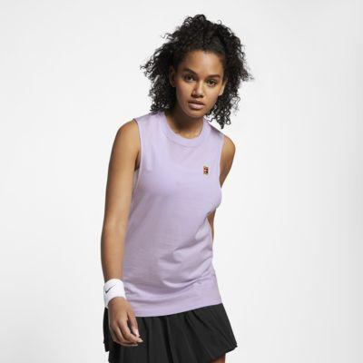 Canotta da tennis NikeCourt - Donna