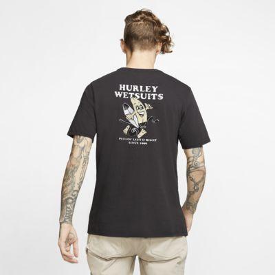 T-shirt Hurley Peeler med premiumpassform för män