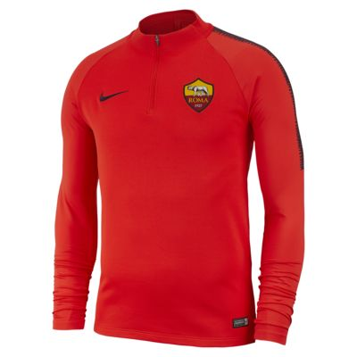 A.S. Roma Dri-FIT Squad Drill Men's Long-Sleeve Football Top