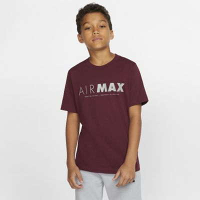 Playera de manga corta para niño talla grande Nike Sportswear Air Max