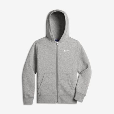 Nike Sportswear Kinder-Hoodie mit durchgehendem Reißverschluss