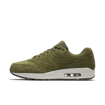 Купить Мужские кроссовки Nike Air Max 1 Premium, Olive Canvas/Секвойя/Светлый костяной/Olive Canvas, 21985657, 12325129