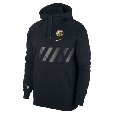 Inter Milan Men's Fleece Pullover Hoodie
