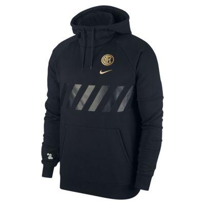 Inter Milan Men's Fleece Pullover Hoodie