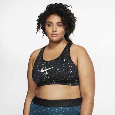 Nike Swoosh Sostenidors esportius de subjecció mitjana (talles grans) - Dona