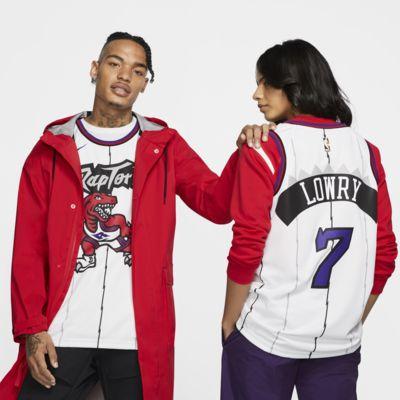 Camiseta conectada Nike NBA para hombre Kyle Lowry Classic Edition Swingman (Toronto Raptors)
