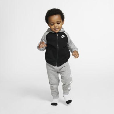 Σετ μπλούζα με κουκούλα και παντελόνι Nike Sportswear για βρέφη (12-24M)